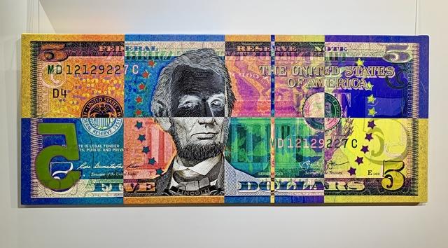 Josh Leidolf aka TRAN$PARENT, 'HONEST WARHOL', 2019, Marcel Katz Art