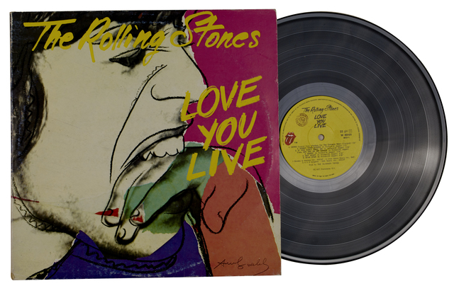 Andy Warhol, 'The Rolling Stones - Love You Live', 1977, Itineris