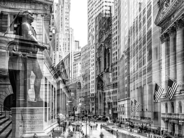 , 'Wall Street (New York, USA),' 2014, Galerie de Bellefeuille