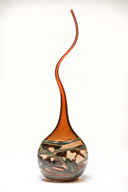 , 'Gocci Vessel in Whiskey & Tangerine ,' , Art Leaders Gallery