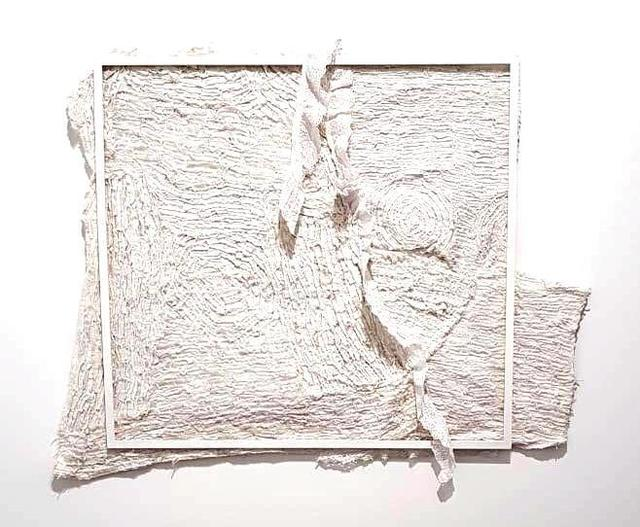 , 'White on white,' 2018, Sulger Buel Gallery