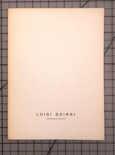 , 'Luigi Ghirri Fotografie 1970-71,' 1972, Zucker Art Books