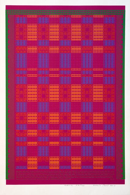 Eduardo Paolozzi, 'Memory Matrix', 1967, Print, Screenprint, Goldmark Gallery