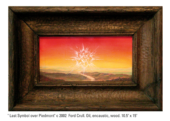 , 'Last Symbol Over Piedmont,' 2002, Cross Contemporary Art