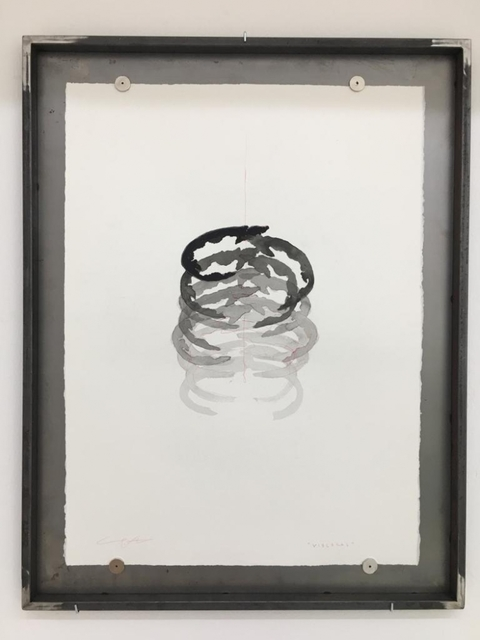 Yoan Capote, 'Visceral (rib cage)', 2019, Drawing, Collage or other Work on Paper, Ink and pensil on paper, GALLERIA CONTINUA