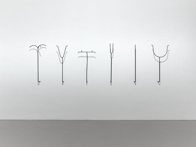 , 'Trophy stands,' 2011, Thomas Rehbein Galerie