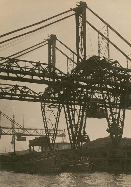 , 'Pont roulant, Rotterdam (Bridge Crane, Rotterdam),' 1926, Jeu de Paume
