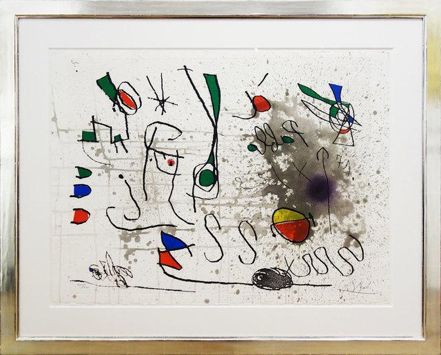 Joan Miró, 'Hommage à Picasso', 1972, Galerie Kellermann
