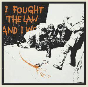 Banksy, 'I Fought The Law (signed)', 2004, Contemporary Art Trader