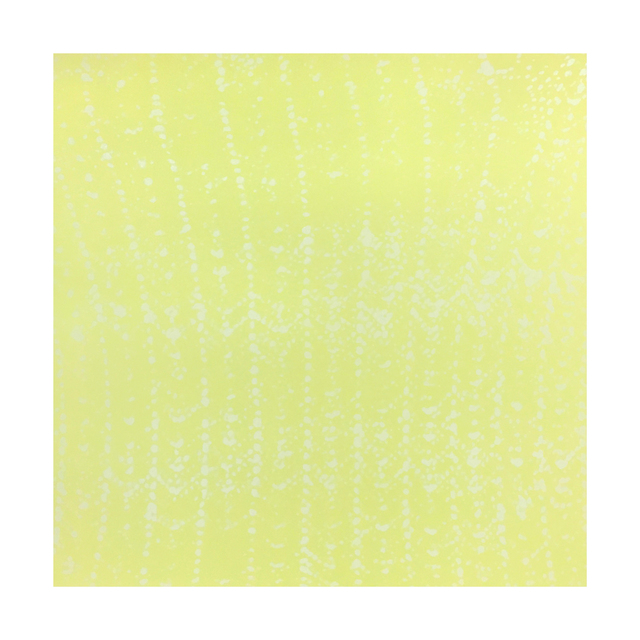 , 'Yellow Crochet Ripple,' 2015, Tandem Press