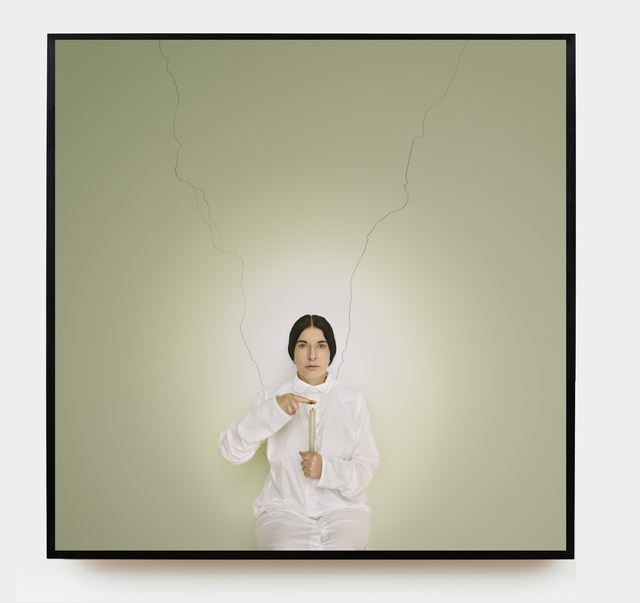 Marina Abramović, 'Artist Portrait with a Candle', 2013, Photography, Framed fine art pigment print, Sean Kelly Gallery