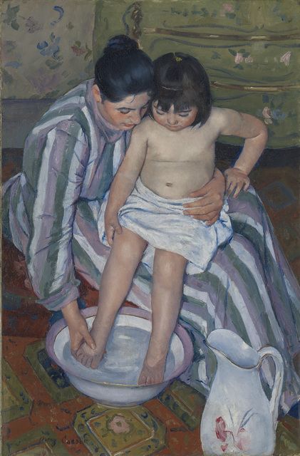 , 'The Child's Bath,' 1893, The National Gallery, London