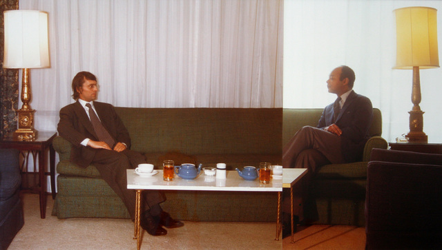 , 'The Symmetry of Diplomacy with Kyneston McShine,' 1972, Galerie Bob van Orsouw
