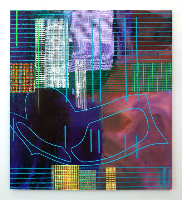 , 'Impermanence — Hyacinth Orchid,' 2018, Blum & Poe