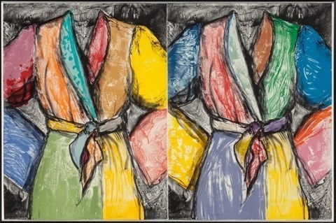 Jim Dine, 'Double Dose of Color', 2009, Kristy Stubbs Gallery