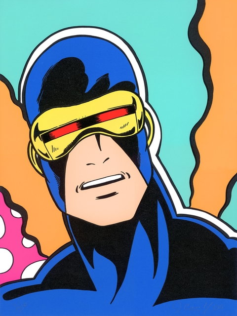 CRASH, 'Cyclops (X-Men Portfolio)', 2000, Aurifer AG
