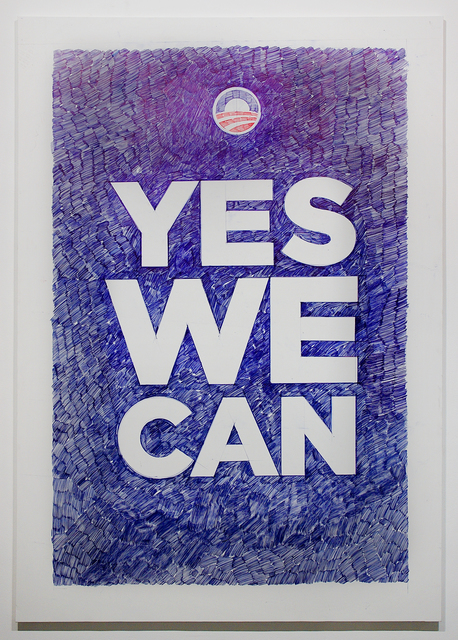 , 'Yes we can,' 2011, Galleria Pack