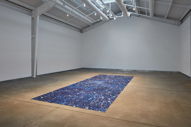 , 'Luminous Ground,' 2018, di Rosa