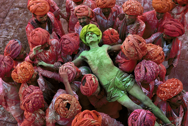 , 'Holi Man, Rajasthan, India,' 1996, Cavalier Galleries