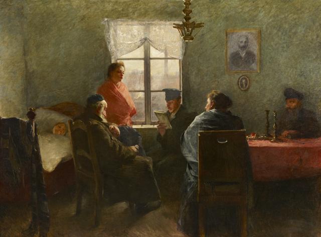 , 'The Sabbath Rest,' 1894, Ben Uri Gallery and Museum
