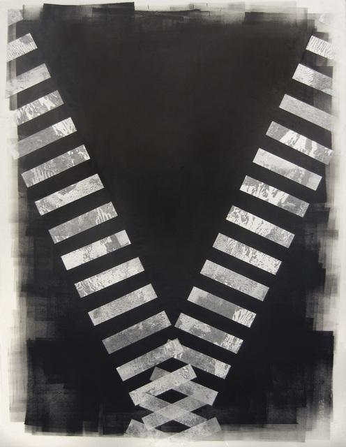 , 'X,' 2014, Moskowitz Bayse