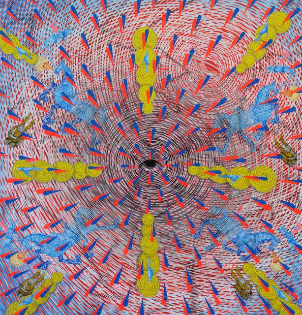 , 'Exploding Eye, Bursting Light,' 2017, Hosfelt Gallery