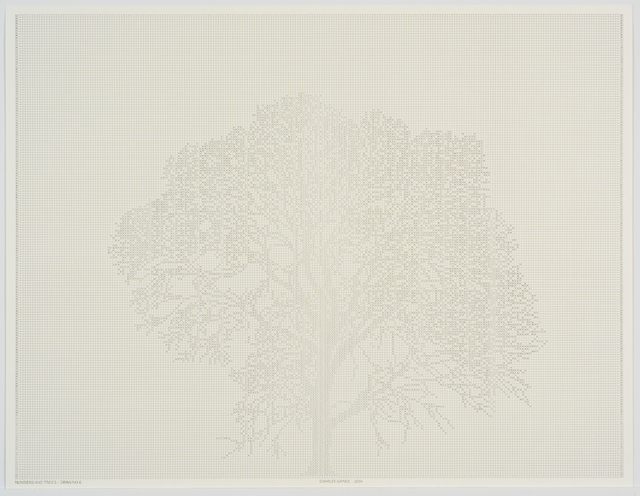 , 'Numbers and Trees: Drawing 2,' 2014, Susanne Vielmetter Los Angeles Projects