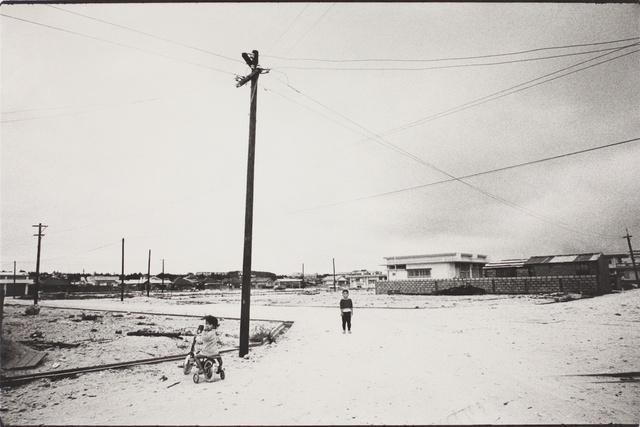 , 'Utility Pole, Ishigakijima, Okinawa (Somehow Familiar Places series),' 1971, MIYAKO YOSHINAGA