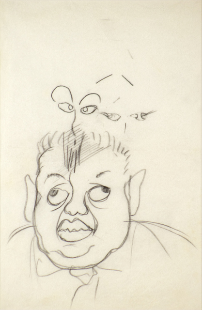 Frida Kahlo, 'Portrait of Diego Rivera', ca. 1933, Heather James Fine Art