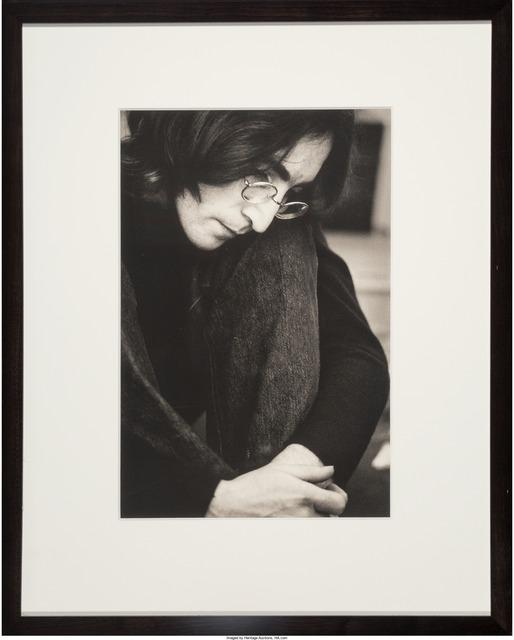 Ethan Russell John Lennon Listening To The White Album 1968 Artsy