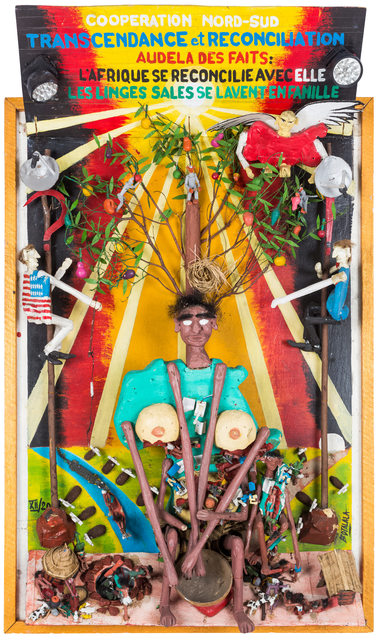 , 'Cooperation Nord-Sud : Transcendance,' 2007, Africa Bomoko