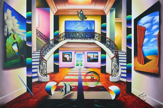, 'Grand Elegance,' , LaMantia Fine Art Inc.
