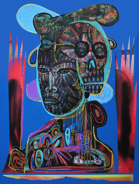 , 'Ghost (Blue),' 2014, Galerie Matthew Namour