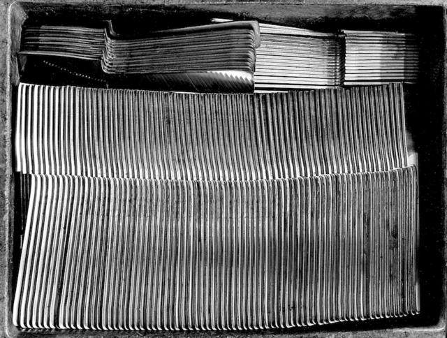 , 'Calderoni Fratelli - Trays of cut tableware,' 2002, 29 ARTS IN PROGRESS gallery