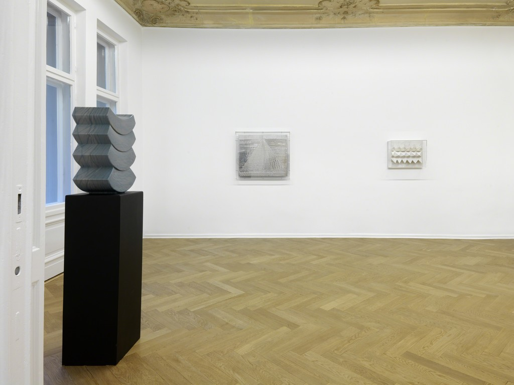 "Installation view. Heinz Mack ""Mack: Review and Outlook, A Special Selection - Homage to his 86th birthday"", A3, Berlin, Germany. February 26 - April 23, 2016. Photo: Bernd Borchardt"