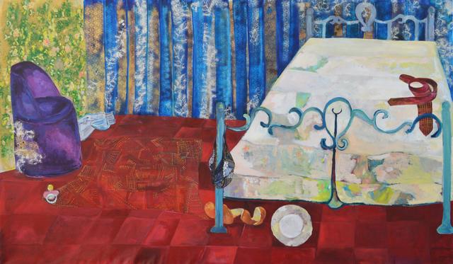 Rana Samara, 'Intimate Space #9', 2015, Painting, Acrylic on canvas, Zawyeh Gallery