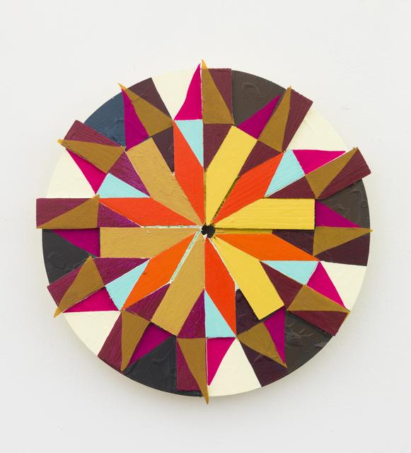 , 'pinwheel,' 2013, Klowden Mann