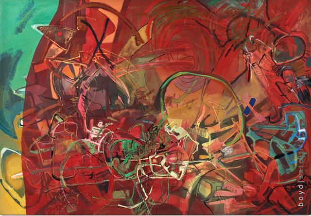 , 'Machine Vision,' 2011, Boyd Satellite Gallery