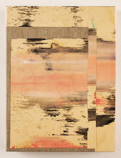 , 'Studio per un paesaggio IV,' 2014, CO2
