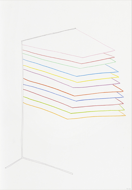 , 'from the series 'Drawing as a poem' (III),' 2016, Kasia Michalski Gallery