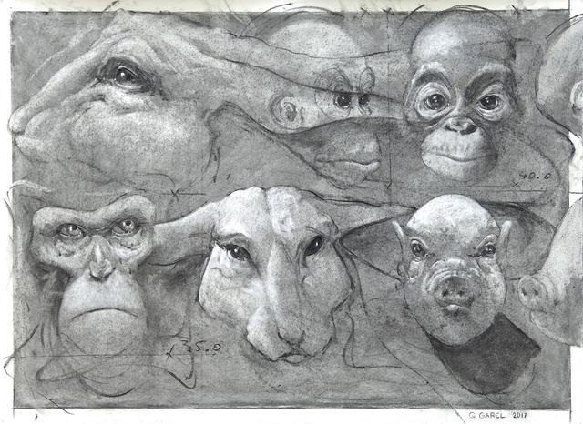 , 'Palimpsest,' 2017, Mazel Galerie