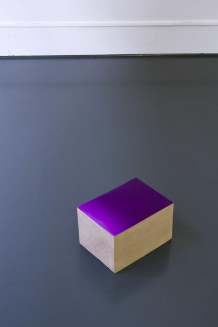 , 'Violet,' 2015, Galerie Laurence Bernard
