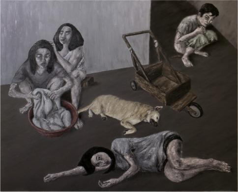 , 'Uncomfortably Settled,' 2015, Galerie Michael Janssen
