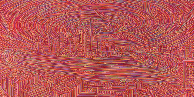 , 'City Stream - Shanghai No.14,' 2018, de Sarthe Gallery