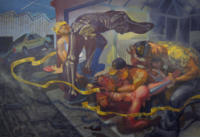 , 'Meanest Of the Marauders,' 2010, Linda Warren Projects