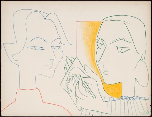 , 'Claire's Portrait IV,' 1953, Mac-Gryder Gallery