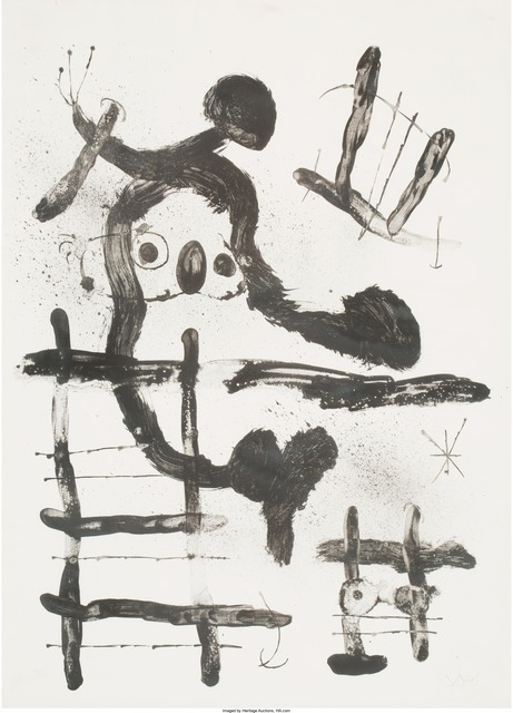 Joan Miró, 'El Pajaro Honda', 1965, Heritage Auctions