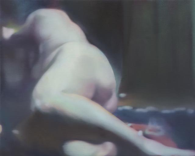 , 'Figure in a green room,' 2016, Zeno X Gallery