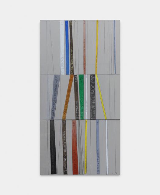 Julio Villani, 'bibliothèque', 2019, Galeria Raquel Arnaud
