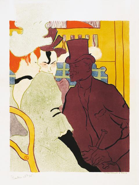 , 'L'Anglais au Moulin Rouge,' 1892, Montreal Museum of Fine Arts